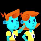 Billy et Olivia, les héros de Graphonémo